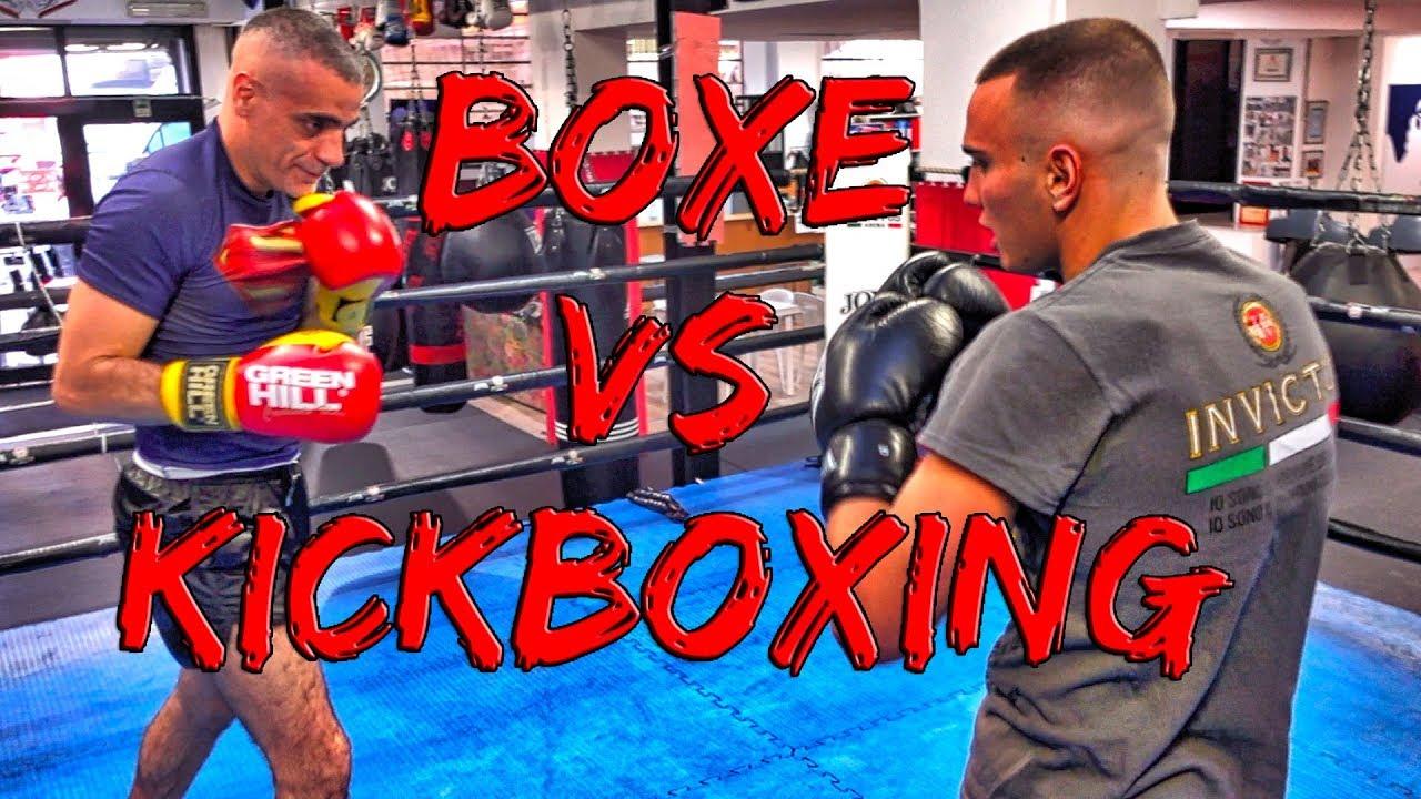 Boxe vs Kickboxing lo sparring che non c'era