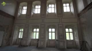 video rekonstrukce zámku Valdštejnů v Litvínově