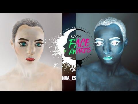 NYX FACE AWARDS RUSSIA 2017 Отборочный тур Стародубцева Екатерина INVERSION