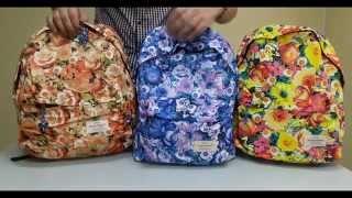 Школьный рюкзак Цветы. интернет-магазин Mak-Shop.(, 2015-11-10T11:08:20.000Z)