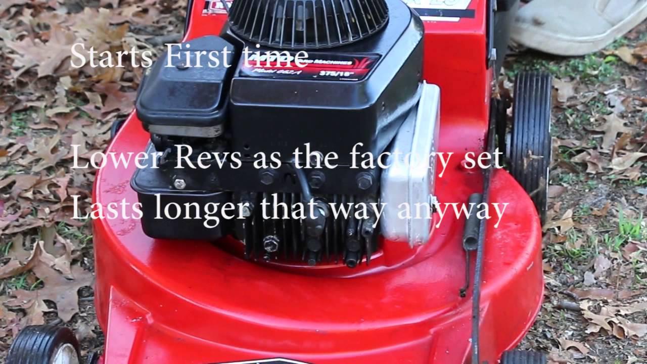 rover quickstart 4 stroke lawn mower 4 blade youtube rh youtube com