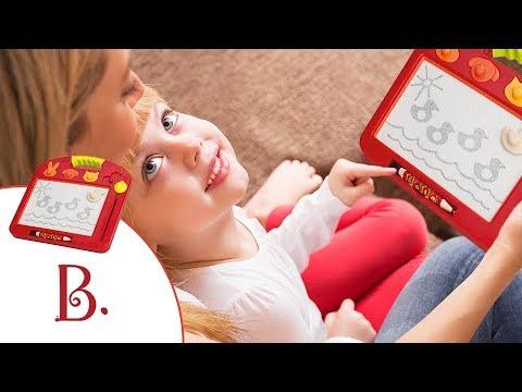 B Toys Toulouse-LapTrec Magnetic Sketchboard