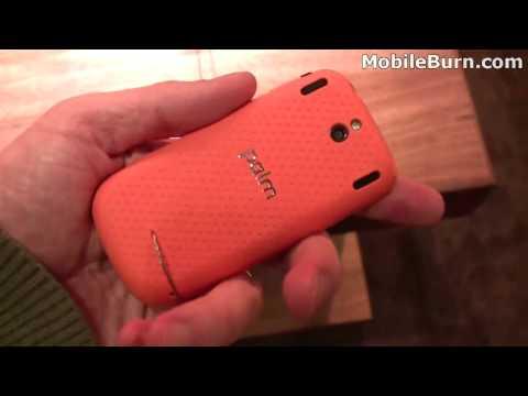 Palm Pixi Plus for Verizon demo