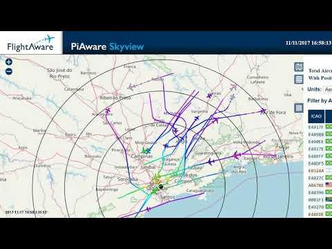 TMA SP FlightAware ADS-B - YouTube