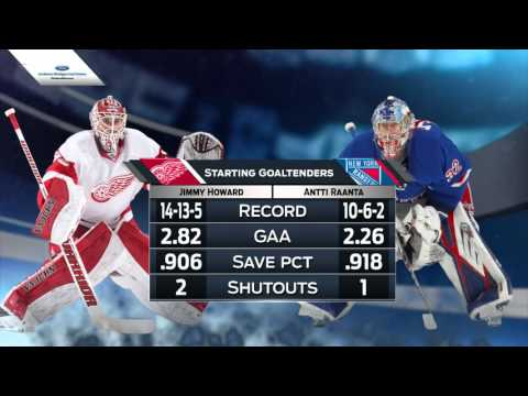 09.04.2016 Detroit Red Wings @ New York Rangers