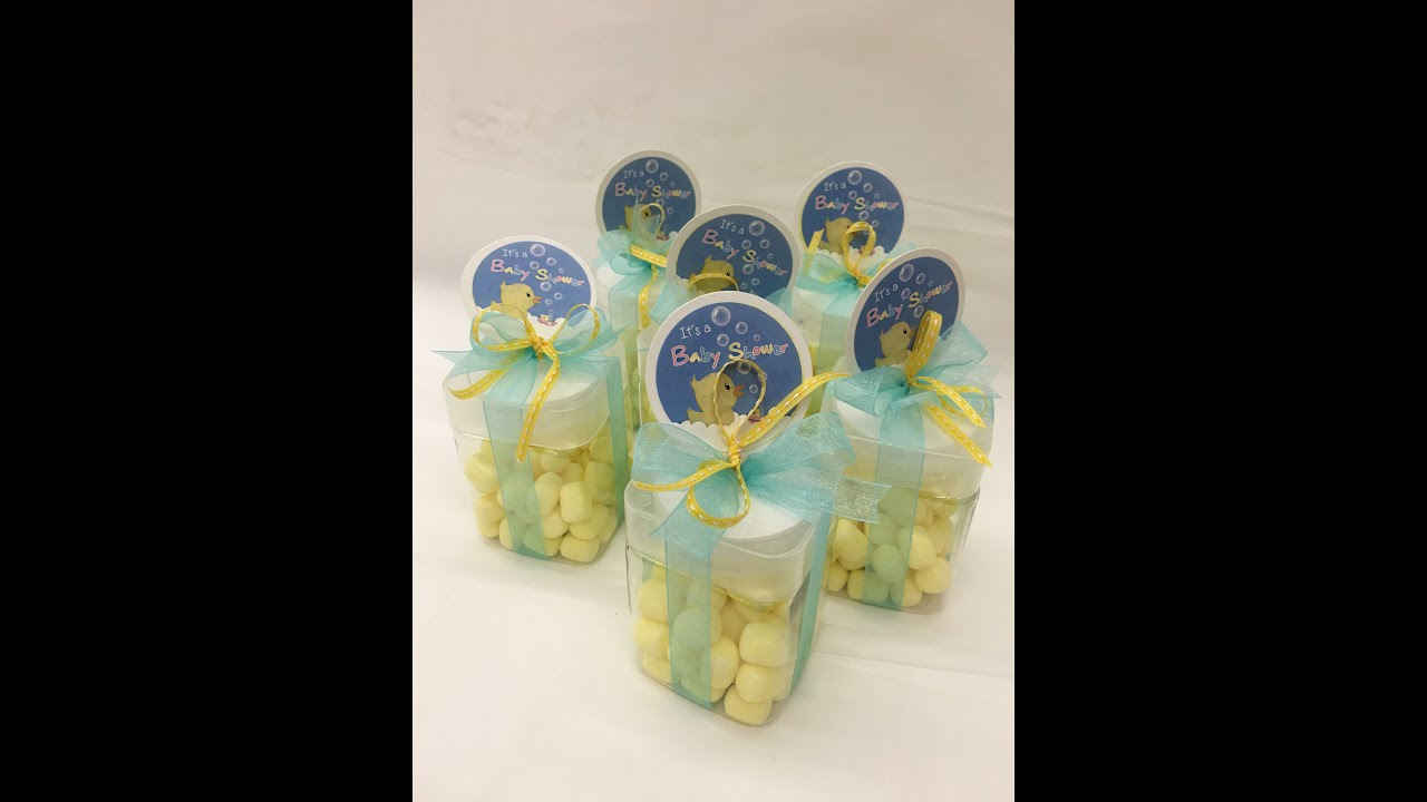 Duck Baby Shower Favor