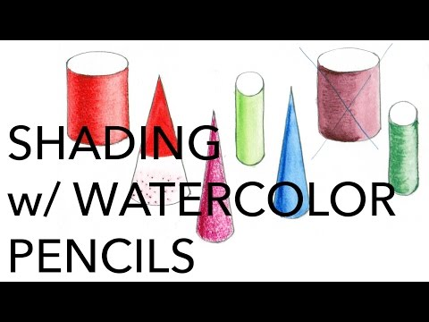 Illustration Tutorial: Shading with Watercolor Pencils