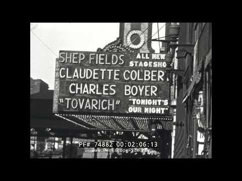 1937 HOME MOVIE  CHICAGO DOWNTOWN & RAILROAD STATION  74882