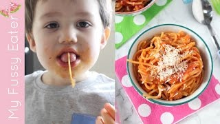 Simple Spaghetti Sauce for Kids  Easy Tomato Pasta Sauce