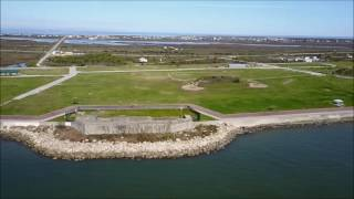 Fort Travis Port Bolivar Galveston County