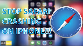 How to stop safari crashing on iPhone / iPad!!!