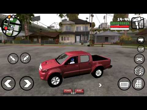 GTA SA ANDROİD TOYOTA HİLUX DFF ONLY (YALNIZCA DFF) MOD