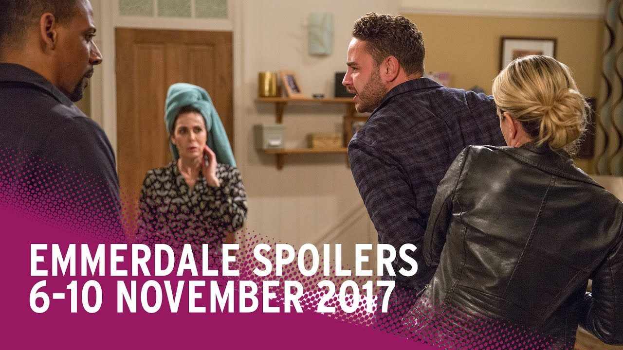 Emmerdale Spoilers: 6 - 10 November 2017
