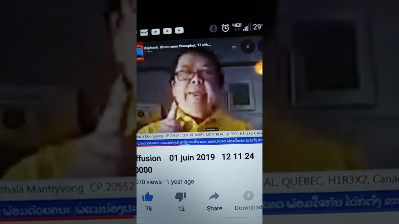 Bee moua tv Lao canada1
