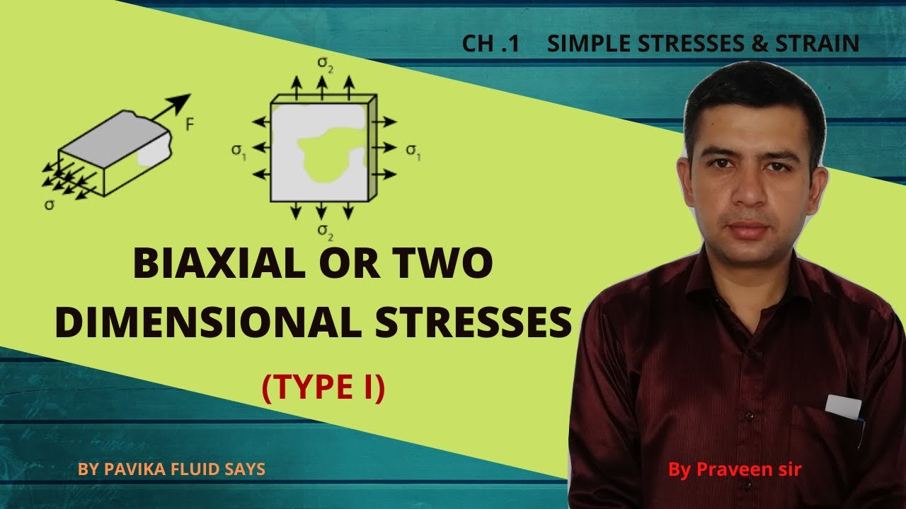 Download Biaxial stress or two dimensional stress