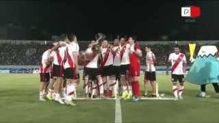 Gamba Osaka 0 River Plate 3 - Suruga Bank 2015 - HD RESUMEN Y FESTEJOS