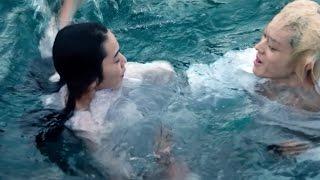 小松菜奈、菅田将暉と海に飛び込み溺れる鮮烈シーン 映画「溺れるナイフ」特別映像 #Nana Komatsu #Masaki Suda