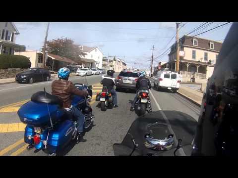 Ride to Montco Cycle Show (Piaggio MP3 500)