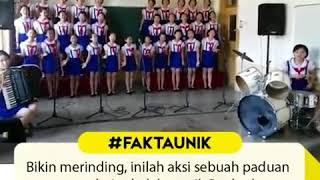 Merinding Lagu Tanah Airku Dinyanyikan Anak-anak Korea Utara