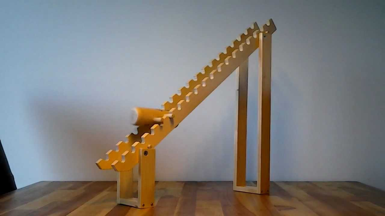 Wooden Tumbling Toy Youtube