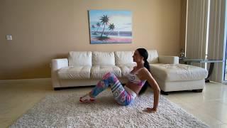 Упражнения для пресса | тренировка дома