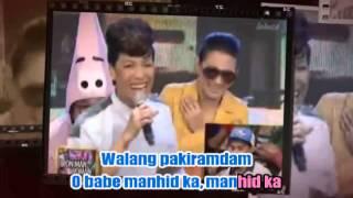 Vice Ganda - Manhid Ka (Karaoke)