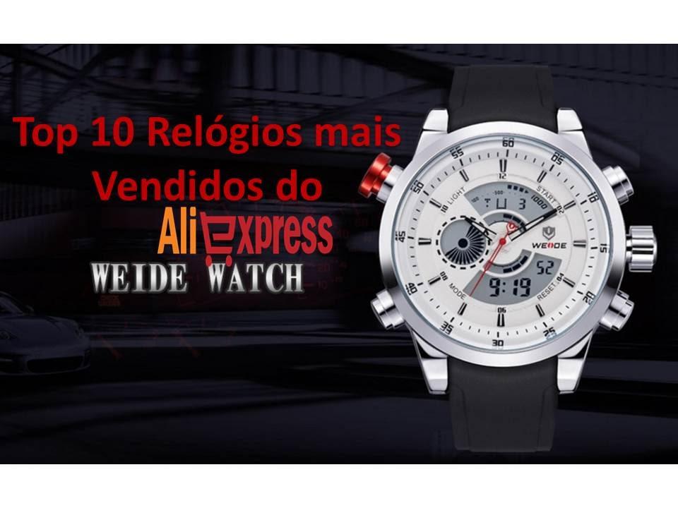 9d7f9633adb Top 10 Relógios Masculinos Importados Mais Vendidos do Aliexpress ...