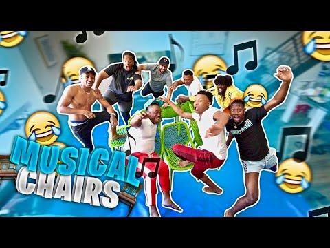 EXTREME Musical Chairs Challenge!! Ft. Poudii, Dub, VonVon, DDG, Ty, Charc, Dimitri, T.O.,