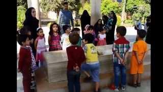 cotravel Reise Iran: Schulklassen an Poeten-Gedenkstätten in Shiraz