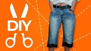 Transformando Calça Jeans Velha – Em nova Estilosa