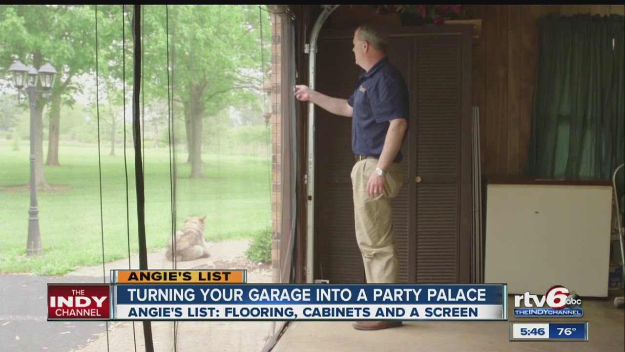 Turn Your Garage Into A Party Palace Youtube