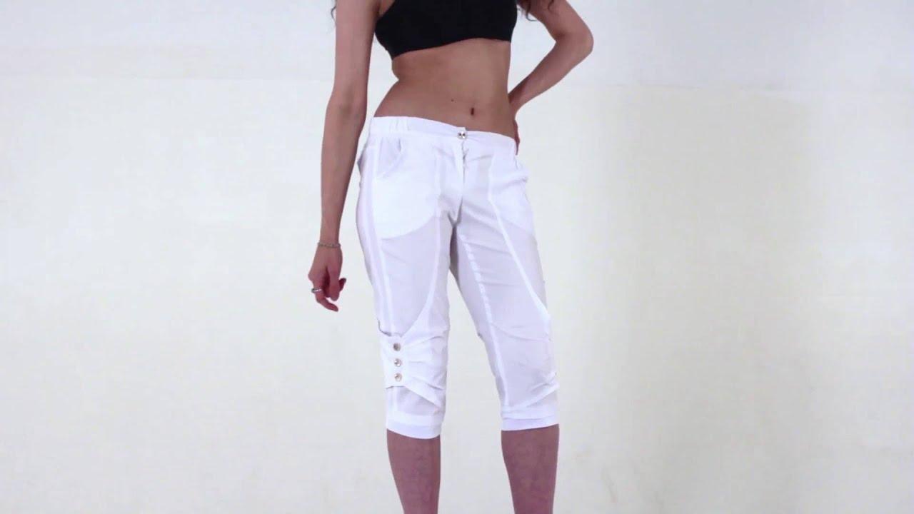 Джинсовые шорты с высокой талией - YouTube