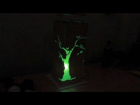 Hướng dẫn tự làm đèn ngủ bằng các vật liệu đơn giản
