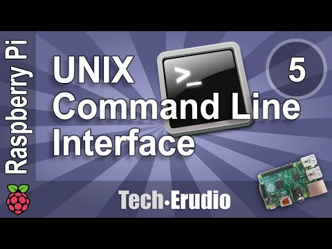 Raspberry Pi - Tutorial 5 - Getting Around in the Unix Command Line Interface