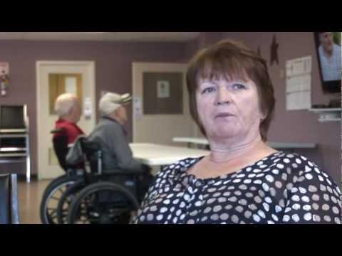 Volunteers help nursing home - Mount St. Joseph