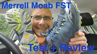 Merrell Moab FST (Gore-Tex) Hiking Shoe review