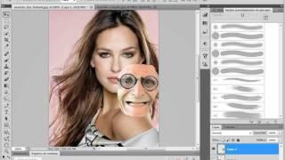 como cambiar de cara con fotoshop cs5