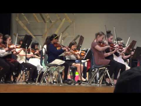 All-City Orchestra, Danbury, Winter Concert (1)
