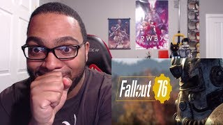 Fallout 76 Trailer + Showcase Reaction - E3 2018