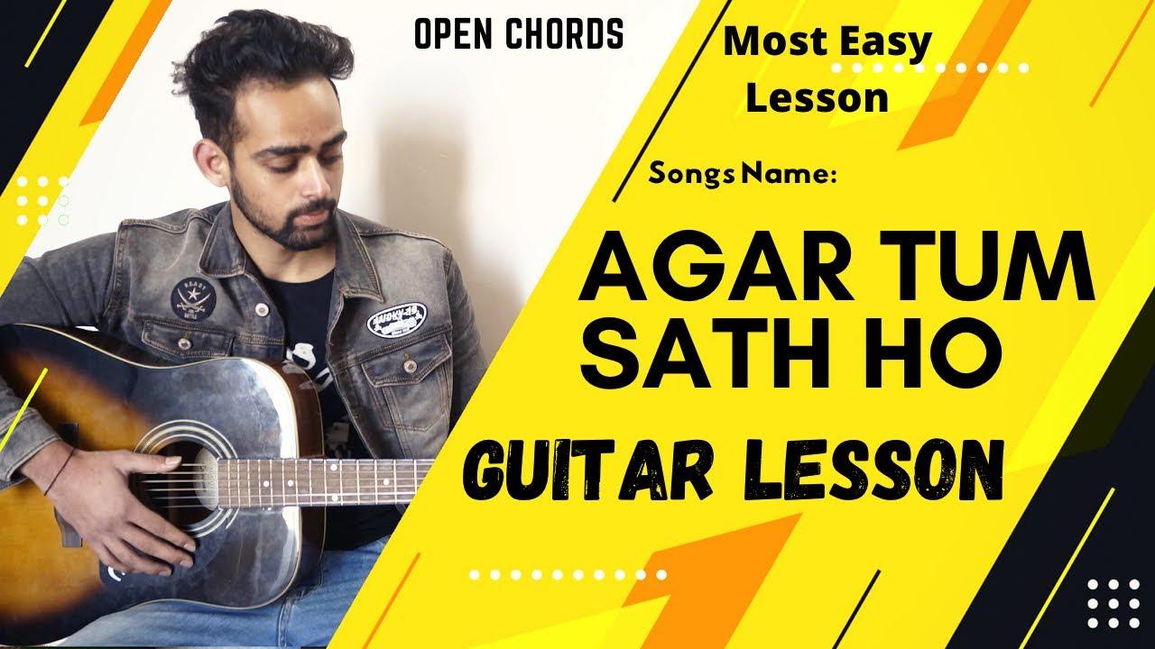 Agar Tum Sath Ho Guitar Lesson | Tamasha | Arijit Singh | Easy Guitar Lesson For Beginners |