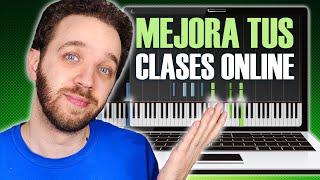 ?️Cómo mejorar el MATERIAL de las CLASES ONLINE ?️ | OBS Studio | Música Encriptada