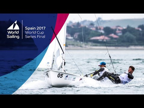 Full Men's 470 Medal Race From The World Cup Series Final In Santander 2017