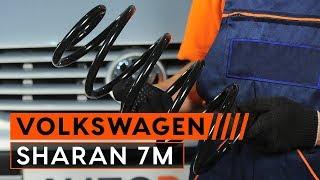 Hoe de Voor veren vervangen op een VOLKSWAGEN SHARAN 7M HANDLEIDING | AUTODOC