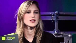 Claire Denamur - Interview par Antoine Daccord - Le Live