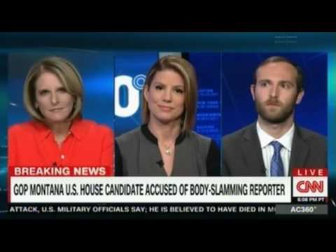 CNN Panel discussion on Republican candidate Greg Gianforte charged with assault after 'body slammin