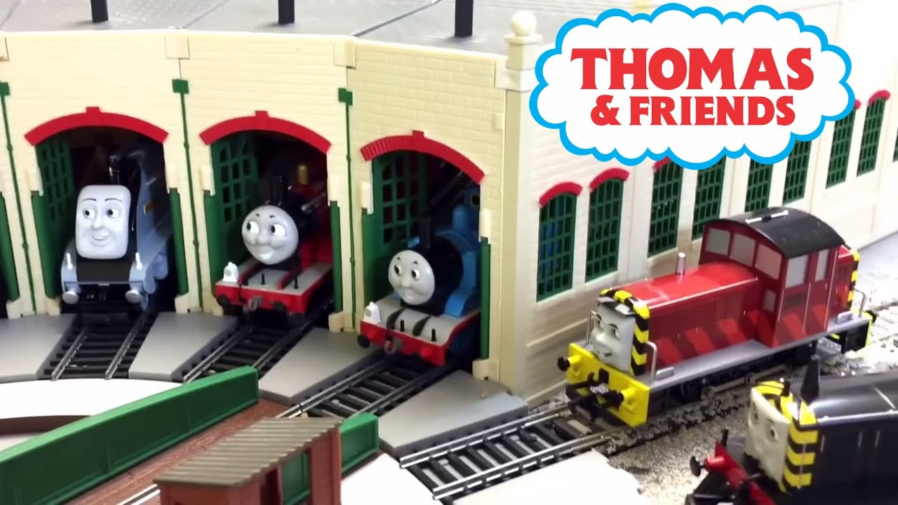 Thomas amp friends ho scale my bachmann train collection youtube