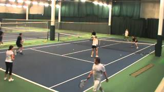 Andy Hill Cardio Tennis Champion Volleyer