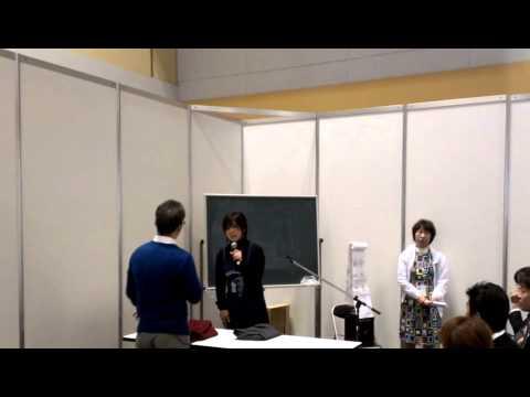 レッツ受付動画クリーンライフヴィジョン2013大阪展示会3