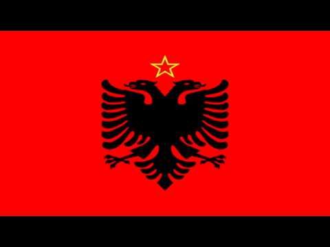 Bandera de la República Popular de Albania (1946-92) - The People's Republic of Albania (1946-92)