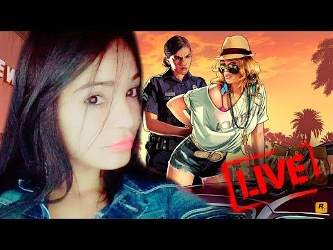 Live com a Mili ❤ GTA V ONLINE ❤ PS4